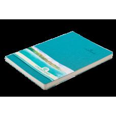 Блокнот деловой Buromax Color Tunes, А5, 96л., мягкая обложка, бирюзовый