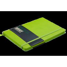 Блокнот деловой Buromax Brief Logo2u, А5, 96л., мягкая обложка, темно-зеленый