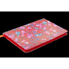 Блокнот деловой Buromax Brief Cherie, А5, 96л., мягкая обложка, красный