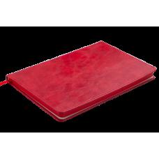 Блокнот деловой Buromax Codebellagio Logo2u, А5, 96л., мягкая обложка, красный