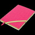 Блокнот деловой Buromax Lollipop, А5, 96л., мягкая обложка, розовый