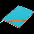Блокнот деловой Buromax Lollipop, А5, 96л., мягкая обложка, голубой