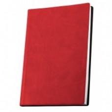 Деловой блокнот Optima Vivella, А5, 256 л., мягкая обложка, красный