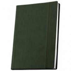 Деловой блокнот Optima Vivella, А5, 256 л., мягкая обложка, зеленый