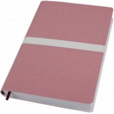 Деловой блокнот Optima ARMONIA, А5, 256 л., мягкая обложка, розовый с белым