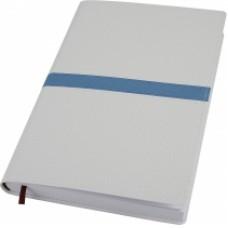 Деловой блокнот Optima ARMONIA, А5, 256 л., мягкая обложка, белый с голубым