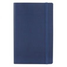 Деловой блокнот Optima GLEN, А5, 256 л., мягкая обложка, на резинке, темно-синий
