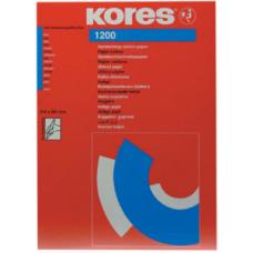 Бумага копировальная Kores, А4, 100 л., синяя