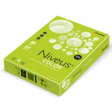 Бумага офисная цветная Niveus, А4, 80г/м2, интенсив лайм, LG46, 500л