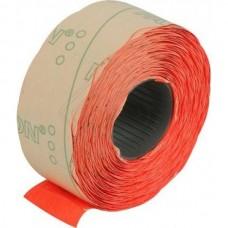 Этикетки-ценники Economix, 22х12 мм, 1000 шт/рул., фигурные, красные