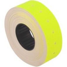 Этикетки-ценники Economix, 21х12 мм, 1000 шт/рул., желтые