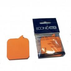 """Блок для заметок с клейким слоем Economix """"Диалог"""" 45х50 мм, 80 л., неон микс"""