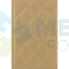 """Ежедневник недатированный Cabinet """"Square"""", А5, 320 л., искусственная кожа, с металлической закладкой и карманом, золотой"""