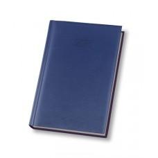 Ежедневник недатированный Economix ALLEGRA, А5, 320 л., искусственная кожа, темно-синий