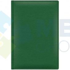 Ежедневник недатированный Cabinet CAPRICE, А5, 320 л., искусственная кожа, зеленый