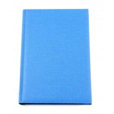 Ежедневник недатированный Economix Capys, А6, 320 л., балакрон, голубой
