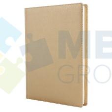Ежедневник недатированный Cabinet CAPRICE, А5, 320 л., искусственная кожа, золотой