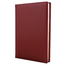 Ежедневник недатированный Cabinet CAPRICE, А5, 320 л., искусственная кожа, бордо
