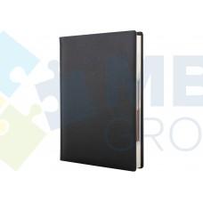 Ежедневник недатированный Cabinet ARMONIA, А5, 320 л., искусственная кожа, черный