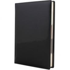 Ежедневник недатированный Cabinet Vivella Lak, А5, 320 л., искусственная кожа, черный