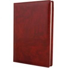 Ежедневник недатированный Cabinet Rider, А5, 320 л., искусственная кожа, бордовый