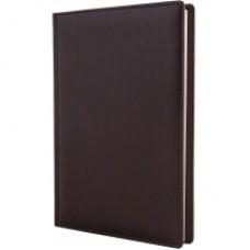 Ежедневник недатированный Cabinet Ostrich, А5, 320 л., искусственная кожа, бордовый