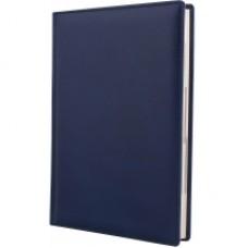 Ежедневник недатированный Cabinet Napa, А5, 320 л., натуральная кожа, синий