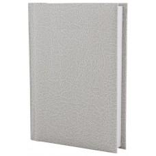 Ежедневник недатированный Economix SAHARA, А6, 320 л., балакрон, белый