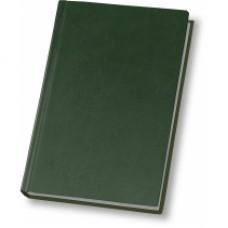 Ежедневник полудатированный Optima Nebraska, А5, 384 л., искусственная кожа, зеленый
