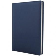 Ежедневник полудатированный Optima Caprice, А5, 384 л., искусственная кожа, синий