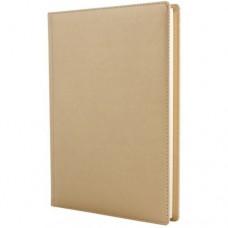 Ежедневник полудатированный Optima Caprice, А5, 384 л., искусственная кожа, золото