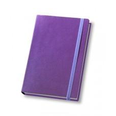 Ежедневник полудатированный Optima CROSS, А5, 384 л., искусственная кожа, сиреневый