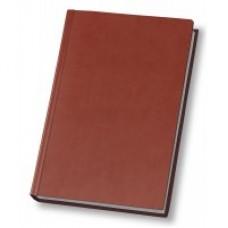 Ежедневник полудатированный Optima Vivella, А5, 384 л., искусственная кожа, коричневый