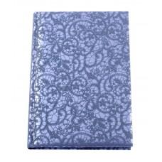 Ежедневник полудатированный Optima Calabria, А5, 384 л., искусственная кожа, темно-синий