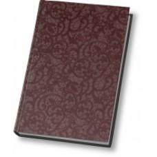 Ежедневник полудатированный Optima Calabria, А5, 384 л., искусственная кожа, коричневый