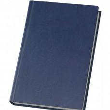Еженедельник недатированный Optima Nebraska, А4, 128 л., искуственная кожа, темно-синий
