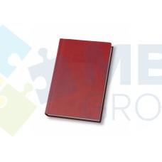 Еженедельник недатированный Optima Vivella, А4, 128 л., искуственная кожа, бордовый