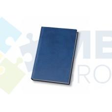Еженедельник недатированный Optima Vivella, А4, 128 л., искуственная кожа,синий
