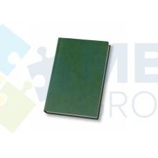 Еженедельник недатированный Optima Vivella, А4, 128 л., искуственная кожа, зеленый