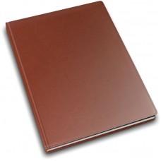 Еженедельник недатированный Optima Vivella, А4, 128 л., искуственная кожа, коричневый