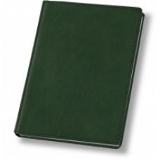 Еженедельник недатированный Optima Nebraska, А4, 128 л., искуственная кожа, зеленый