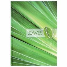"""Блокнот Optima """"Рисунки природы"""" Leaves, А4, 96 л."""