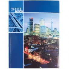 "Блокнот Optima ""Office book"", А4, 96 л., синий"