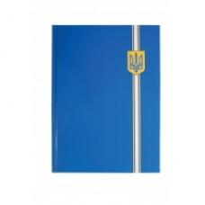 """Блокнот Optima """"Орнамент"""", А4, 96 л., синий герб, линия"""