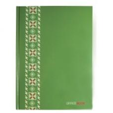 "Блокнот Optima ""Орнамент"", А4, 96 л., зеленый"