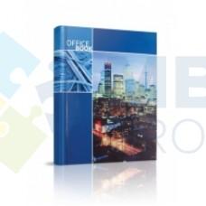 """Блокнот Optima """"Office book"""", А4, 96 л., синий, линия"""