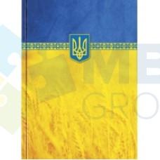 "Блокнот Optima ""Орнамент"", А4, 96 л., желто-голубой"