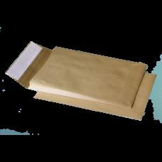 Конверт В4 (250х353мм), коричневый, СКЛ с расширением по узкой стороне