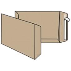Конверт В4 (250х353мм), коричневий, СКЛ