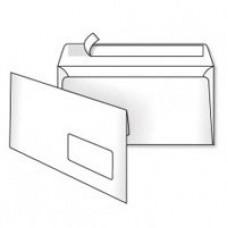 Конверт DL (110х220мм), белый, СКЛ, с окном 45х90мм